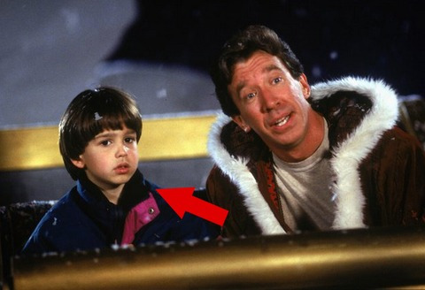 "Eric Lloyd played the cute son of Tim Allen named Charlie in the movie ""The Santa Clause."""