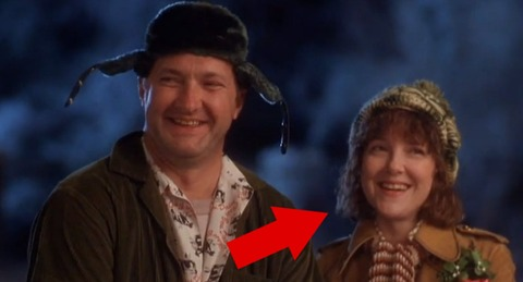 "Eddie's wife, Catherine played by Miriam Flynn sure did make us laugh in ""Christmas Vacation!"""