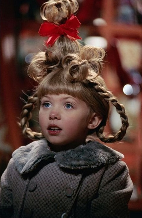 Taylor Momsen played the adorable Cindy Lou Who alongside Jim Carrey in the film, 'How the Grinch Stole Christmas.'