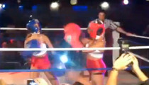 'Bad Girls Club' Stars -- Boxing Each Other in Booty Shorts