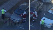 Santa Claus Slapped With Parking Ticket ... Ho Ho Hoh-Crap