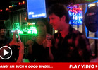 Jon Heder -- Watch Me Sing Karaoke With a Hot Babe