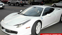 Justin Bieber -- Paparazzo Killed Chasing Justin Bieber's Ferrari