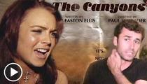 Lindsay Lohan BLASTS 'Canyons' Co-Star -- 'Do Your F**king Job' [Audio]