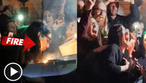 Skrillex Sets Hair on Fire In Birthday Candle Disaster [VIDEO]