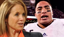 Manti Te'o -- Giving First On-Camera Interview to Katie Couric