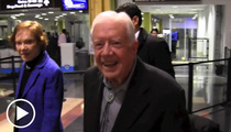 President Jimmy Carter -- I'm FIRED UP to See Beyonce!!!