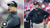 Harbaugh Brothers -- Super Bowl XLVII Shine Jacked By Casey Anthony
