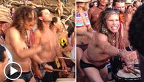 Steven Tyler -- I'll Play the Bongo ... You Watch My Schlongo