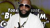 Rick Ross -- Luckiest Rapper Alive After Bad Aim Drive-By