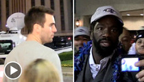 Super Bowl XLVII -- Starring Joe Flacco, Ed Reed and a Donkey!!  Or a Goat