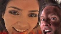 Kim Kardashian's Sex Tape Master Almost Perishes in Fire!!!