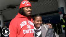 Waka Flocka Flame -- Airport Giveaway Is Just How He Rolls