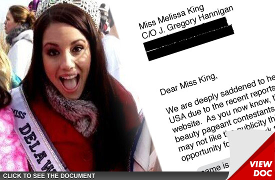 Melissa King -- Miss Delaware Teen Usa Offered 250,000 -8027
