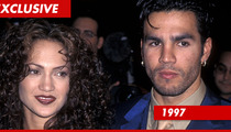 Jennifer Lopez' #1 Husband -- Pounding Out Full-Frontal Playgirl Deal