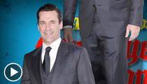 Jon Hamm -- In Need of a Commando Cover-Up