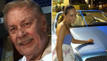 Jerry Buss Told Young Girlfriend ... KEEP QUIET!!!!