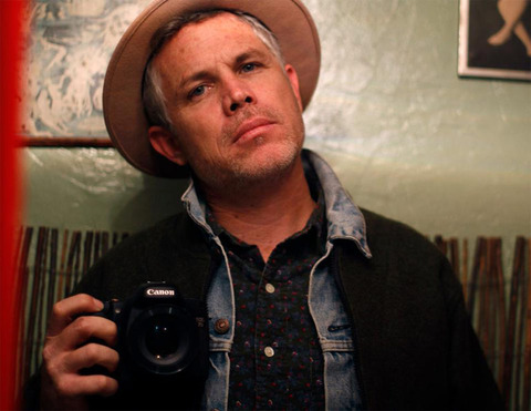 Ross Harris -- now a director and photographer -- was photographed looking punk rock.