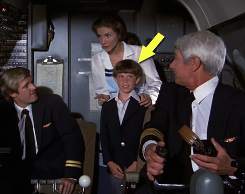 "Ross Harris was only ten years old when he played Joey the cockpit visitor in the classic 1980 comedy ""Airplane."""