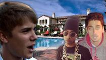 Justin Bieber to Lil Buddies: Mi Casa Su Casa