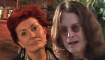 Sharon Osbourne -- I Won't Go Back to Ozzy Until He's Clean for Months