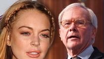 Lindsay Lohan -- Hey Tom Brokaw ... Why You Gotta Be So Mean?