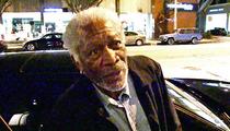 Morgan Freeman -- TAKES A SHOT at Zach Braff