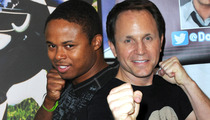 Black Power Ranger -- Also BOYCOTTING Reunion ... In Support of Blue Buddy