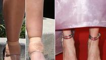 Kim Kardashian vs. Julianne Moore -- Whose Feet Would You Rather?