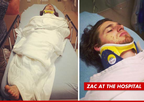 Americas Got Talent Star Zac Gordon Aka Horse The Guy With Iron Testicles Is Lucky To Be Alive After Smashing His Car Into A Tree