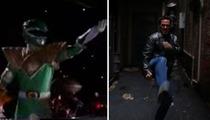 Green Power Ranger -- Catches Beatdown by ... Liberace??
