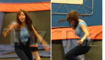 Amanda Bynes -- Denies Trampoline Trip, But Witnesses Say ... It Was Her!