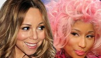 Mariah Carey & Nicki Minaj -- One and Done, They Officially Quit 'American Idol'