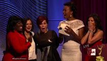 Daytime Emmy Awards 2013 -- MAJOR SCREWUP ... Envelope Mix-Up During Live Show