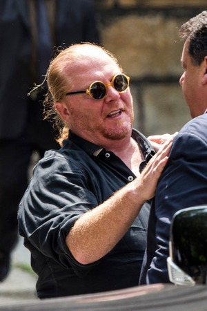 James Gandolfini Funeral Arrivals