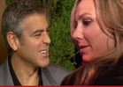 George Clooney and Stacy Keibler -- Broke Up Over the Phone