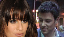 Lea Michele -- Controlling Cory Monteith in Life and Death