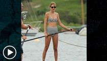 Taylor Swift's Grankini -- It's a Girl Thing ... That Guys HATE