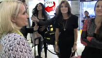 Bev Hills Housewives -- Secret New Castmember REVEALED at LAX