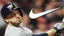 MLB Star Ryan Braun -- Dropped by Nike Over Steroid Use