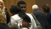 Usher Custody War -- Tameka Loses ... But Gets an Usher Hug