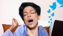 Prince Joins Twitter -- Immediately Posts Photo of Salad