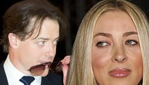 Brendan Fraser's Ex-Wife -- He's Lying, He Can Afford $50,000 a Month in Alimony