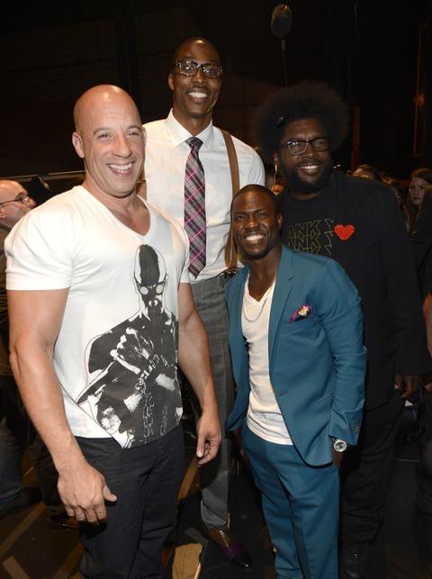 Vin Diesel, Dwight Howard, Kevin Hart and Questlove