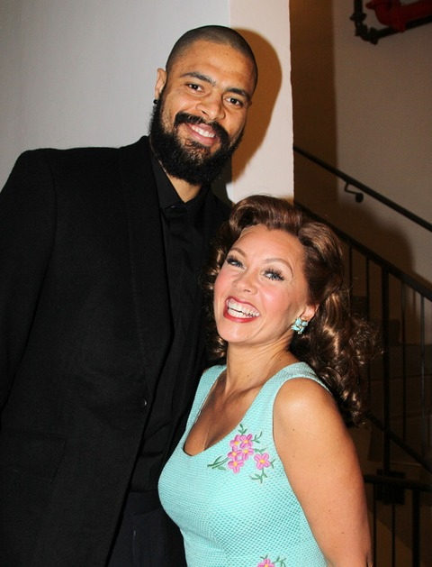 Tyson Chandler and Vanessa Williams