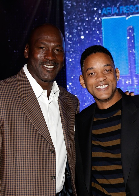 Michael Jordan and Will Smith