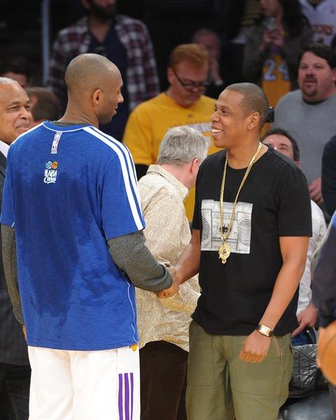 Kobe Bryant and Jay-Z