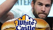 Liam Hemsworth -- White Castle Offers $20,000 After Burger Puke Story
