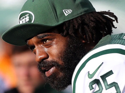 Joe McKnight was busted in Jersey on outstanding warrants during a routine traffic stop in August 2013