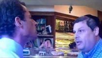 Anthony Weiner -- Celebrates Rosh Hashanah ... By Screaming at Jew [Update]